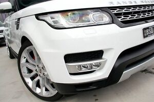 2014 Land Rover Range Rover Sport L494 15.5MY SDV6 CommandShift HSE White 8 Speed Sports Automatic West Gosford Gosford Area Preview