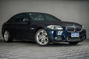 2012 BMW 5 Series F10 MY0911 520d Steptronic Black 8 Speed Sports Automatic Sedan Maddington Gosnells Area Preview