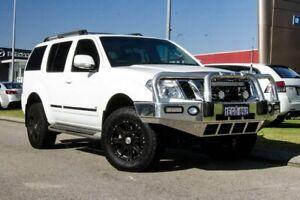 2012 Nissan Pathfinder R51 MY10 Ti 550 White 7 Speed Sports Automatic Wagon