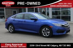 2018 Honda Civic Sedan LX CAMERA HEATED SEATS BLUETOOTH CRUISE A
