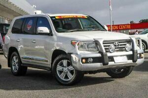 2013 Toyota Landcruiser VDJ200R MY12 Sahara White 6 Speed Sports Automatic Wagon Cannington Canning Area Preview