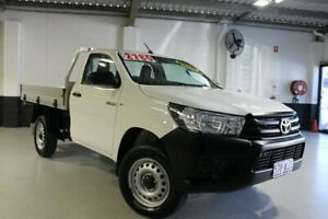2015 Toyota Hilux White 6 Speed Automatic Utility