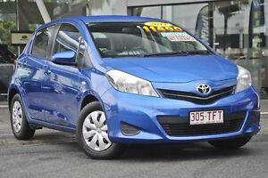 2013 Toyota Yaris NCP130R YR Blue 5 Speed Manual Hatchback Mount Gravatt Brisbane South East Preview