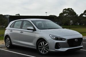 2017 Hyundai i30 PD MY18 Active Silver 6 Speed Sports Automatic Hatchback St Marys Mitcham Area Preview