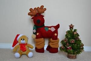 Christmas Tree Ornaments, Mini Christmas Tree, Reindeer & More
