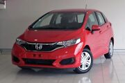 2017 Honda Jazz GF MY18 VTi Red 1 Speed Constant Variable Hatchback Southport Gold Coast City Preview