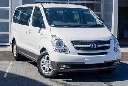 2011 Hyundai iMAX TQ-W MY11 White 4 Speed Automatic Wagon Southport Gold Coast City Preview