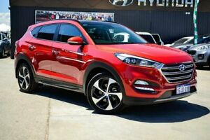 2016 Hyundai Tucson TLe MY17 Highlander AWD Red 6 Speed Sports Automatic Wagon Midvale Mundaring Area Preview