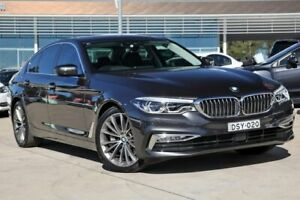 2017 BMW 530d G30 Luxury Line Steptronic Grey 8 Speed Sports Automatic Sedan