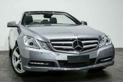 2011 Mercedes-Benz E250 A207 MY12 BlueEFFICIENCY 7G-Tronic + Avantgarde Silver 7 Speed