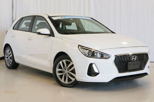 2017 Hyundai i30 PD MY18 Active White 6 Speed Sports Automatic Hatchback Wangara Wanneroo Area Preview