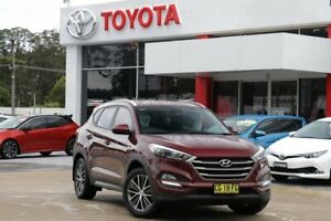 2015 Hyundai Tucson TL Active X (FWD) Maroon 6 Speed Automatic Wagon Wyoming Gosford Area Preview