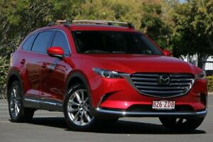2017 Mazda CX-9 TC Azami SKYACTIV-Drive i-ACTIV AWD Red 6 Speed Sports Automatic Wagon Chermside Brisbane North East Preview
