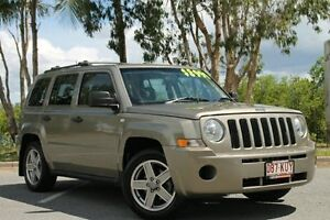 2008 Jeep Patriot MK MY2007 Sport Gold 5 Speed Manual Wagon Bungalow Cairns City Preview