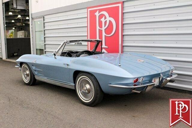 1963 Blue Chevrolet Corvette Convertible  | C2 Corvette Photo 3