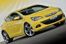 2012 Opel Astra AS GTC Sport Yellow 6 Speed Manual Hatchback Ferntree Gully Knox Area Preview