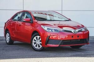 2018 Toyota Corolla ZRE172R Ascent S-CVT Red 7 Speed Constant Variable Sedan Tweed Heads South Tweed Heads Area Preview