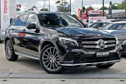 2015 Mercedes-Benz GLC250 X253 9G-TRONIC 4MATIC Black 9 Speed Sports Automatic Wagon