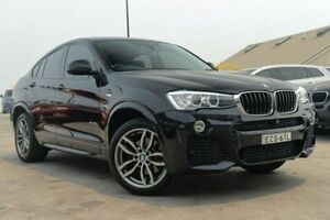 2015 BMW X4 F26 xDrive20i Coupe Steptronic Black 8 Speed Automatic Wagon