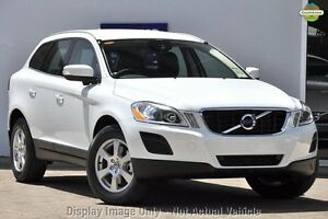2012 Volvo XC60 DZ MY13 D5 Geartronic AWD Teknik White 6 Speed Sports Automatic Wagon Nedlands Nedlands Area Preview