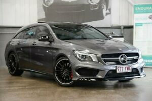 2016 Mercedes-Benz CLA45 X117 806MY AMG Shooting Brake SPEEDSHIFT DCT 4MATIC Grey 7 Speed Albion Brisbane North East Preview