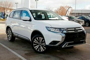 2018 Mitsubishi Outlander ZL MY19 ES AWD White 6 Speed Constant Variable Wagon Strathmore Heights Moonee Valley Preview