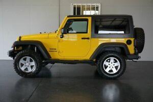 2011 Jeep Wrangler JK MY11 Sport (4x4) Yellow 6 Speed Manual Softtop