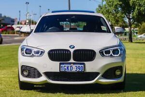 2017 BMW 125I F20 LCI M Sport White 8 Speed Sports Automatic Hatchback