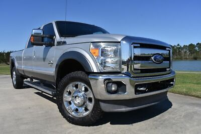 2012 Ford F-250 Lariat 2012 Ford F250SD Lariat 139401 Miles Silver Pickup Truck 8 Automatic