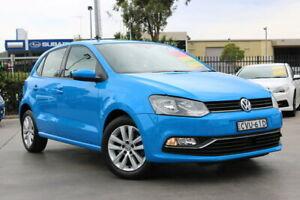 2014 Volkswagen Polo 6R MY15 81TSI Comfortline Blue 6 Speed Manual Hatchback Penrith Penrith Area Preview