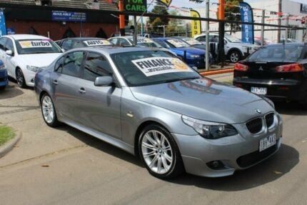 2006 BMW 530i E60 MY06 Upgrade Sport Grey 6 Speed Auto Steptronic Sedan West Footscray Maribyrnong Area Preview