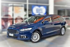 2016 Ford Mondeo MD Trend PwrShift Blue 6 Speed Sports Automatic Dual Clutch Wagon Berwick Casey Area Preview