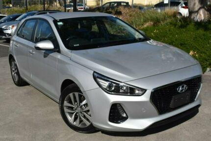 2018 Hyundai i30 PD2 MY18 Active Silver 6 Speed Sports Automatic Hatchback Mill Park Whittlesea Area Preview