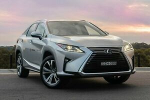2019 Lexus RX GGL25R RX350 Luxury Premium Silver 8 Speed Sports Automatic Wagon Somersby Gosford Area Preview