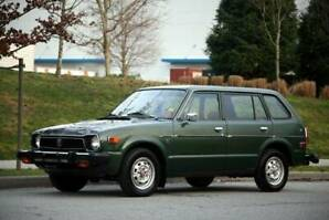 1978 Honda Civic Wagon Rare