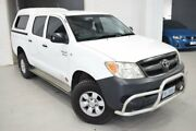 2005 Toyota Hilux GGN25R MY05 SR White 5 Speed Manual Utility Launceston Launceston Area Preview