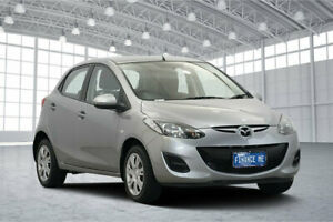 2011 Mazda 2 DE10Y1 MY11 Neo Silver 4 Speed Automatic Hatchback Victoria Park Victoria Park Area Preview