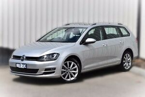 2015 Volkswagen Golf VII MY16 110TDI DSG Highline Silver 6 Speed Sports Automatic Dual Clutch Wagon Berwick Casey Area Preview
