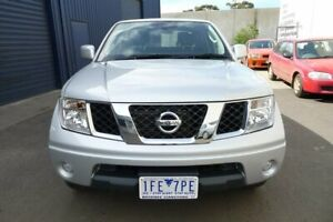 2015 Nissan Navara Silver Automatic Utility Hoppers Crossing Wyndham Area Preview