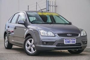 2007 Ford Focus LT LX Grey 4 Speed Sports Automatic Hatchback Bellevue Swan Area Preview
