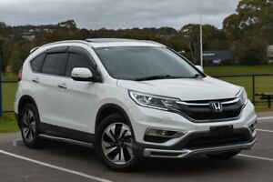 2016 Honda CR-V RM Series II MY17 VTi-L White 5 Speed Sports Automatic Wagon St Marys Mitcham Area Preview