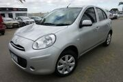 2014 Nissan Micra K13 MY13 ST-L Silver 5 Speed Manual Hatchback Heatherton Kingston Area Preview