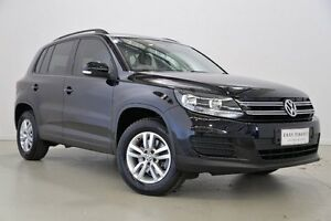 2011 Volkswagen Tiguan 5N MY12 118TSI 2WD Black 6 Speed Manual Wagon Mansfield Brisbane South East Preview