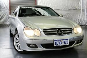 2005 Mercedes-Benz CLK350 C209 MY06 Avantgarde Silver 7 Speed Sports Automatic Coupe Myaree Melville Area Preview