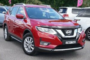 2018 Nissan X-Trail T32 Series II ST-L X-tronic 4WD Red 7 Speed Constant Variable Wagon Phillip Woden Valley Preview