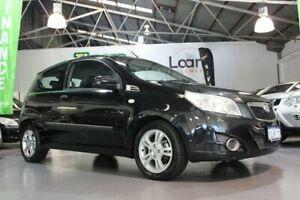 2010 Holden Barina TK MY11 Black 5 Speed Manual Hatchback Victoria Park Victoria Park Area Preview