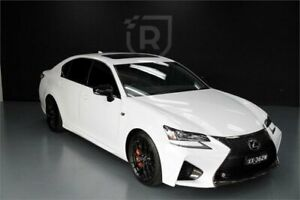 2016 Lexus GS URL10R GS F White 8 Speed Sports Automatic Sedan Adelaide CBD Adelaide City Preview