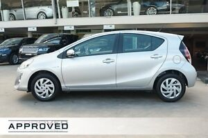 2015 Toyota Prius c NHP10R E-CVT Silver Pearl 1 Speed Constant Variable Hatchback Hybrid Brookvale Manly Area Preview