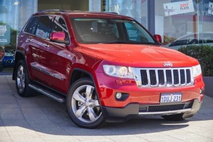 2011 Jeep Grand Cherokee WK MY2011 Limited Red 5 Speed Sports Automatic Wagon