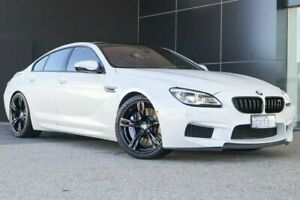 2015 BMW M6 F06 LCI Gran Coupe M-DCT White 7 Speed Sports Automatic Dual Clutch Sedan Wangara Wanneroo Area Preview